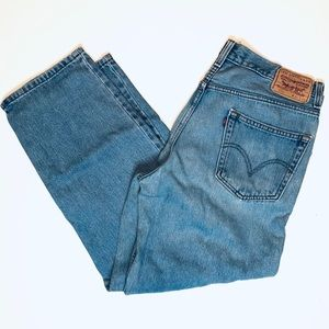 Levi's 550 Relaxed Fit Men's Blue Jeans 34x29